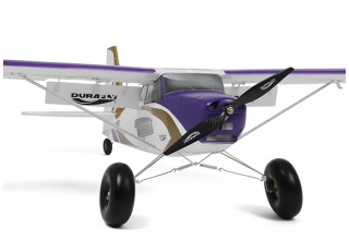 Durafly Color  Tundra 1300mm Anniversary Edition (Purple/Gold) (PnF) - front flaps