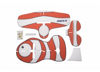 H-King Glue-N-Go Clownfish EPP 850mm (Kit) - pieces