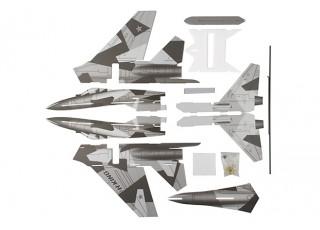 H-King SU-27 - Glue-N-Go - 5mm Foamboard PP 650mm (Kit) - parts