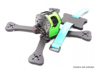 GEP-IX5 Fairy FPV Racing Drone Frame 200 (GREEN) (Kit) - battery strap