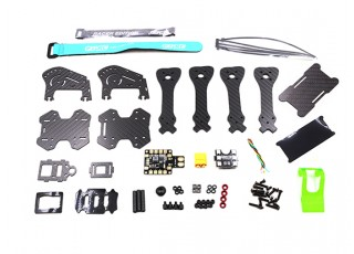 GEP-IX5 Fairy FPV Racing Drone Frame 200 (GREEN) (Kit) - kit