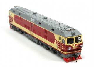 DF4DK Diesel Locomotive HO Scale (DCC Equipped) No.1 2