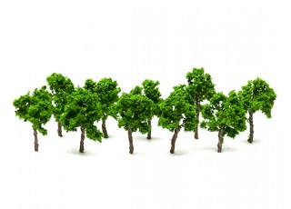 HobbyKing™ 40mm Scenic Wire Model Trees 16090-W40 (10 pcs)