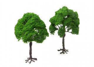 HobbyKing™ 180mm Scenic Wire Model Trees with Roots (2 pcs)
