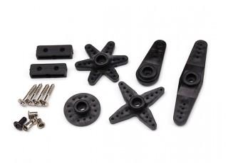 JX BLS-12V7146 11.1~15V Brushless Metal Gear High Torque Servo 47kg/0.10sec/71g servo accessory pack