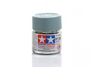 Tamiya XF-23 Flat Light Blue Mini Acrylic Paint (10ml)
