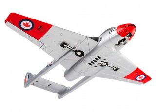 Durafly™ D.H.100 Vampire Mk6 EDF Jet V2 RCAF - bottom view