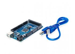 Mega-2560-R3-ATmega2560-16AU-cable