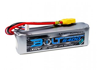 Turnigy Bolt 5400mAh 3S 11.4.2V 65~130C High Voltage Lipoly Pack (LiHV) w/XT90