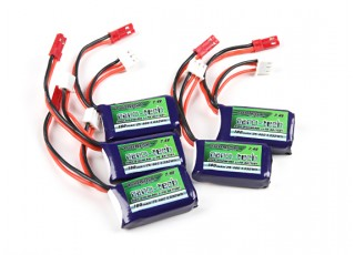 Turnigy nano-tech 180mAh 2S 25~40C Lipo Pack2