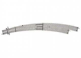 RocoLine HO Large Radius Righthand Curved Turnout R9/R10