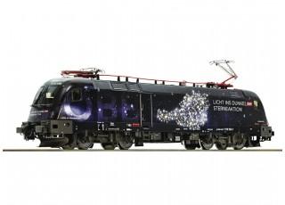 "Roco/Fleischmann HO Electric Locomotive 1116 158 ""Licht ins Dunkel"" OBB (DCC Ready)"