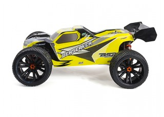 BSR Berserker 1/8 Electric Truggy Updated (Kit) - left side