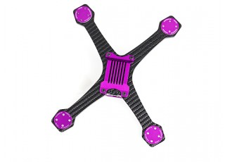 Diatone 2017 GT200S Stretch FPV Racing Drone Frame Kit (Violet) View 4
