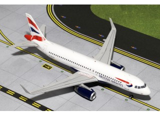 Gemini Jets British Airways Airbus A320-200(S) G-EUYV 1:200 Diecast Model G2BAW424
