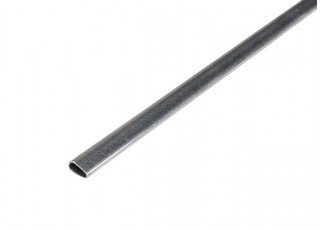 "K&S Precision Metals Aluminum Streamline Tube 1/4"" x 35"" (Qty 1)"