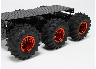 Wild Thumper 6WD Multi Chassis Side Rear View