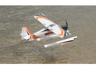 Durafly Color Tundra 1300mm Anniversary Edition (Orange/Grey) (PnF) - Float 2