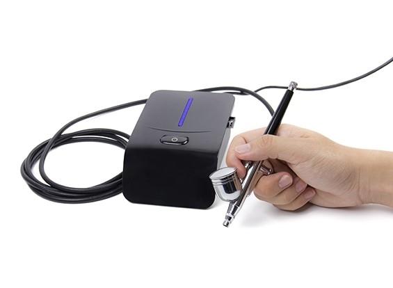 Auto-stop mini compressore con camera d'aria