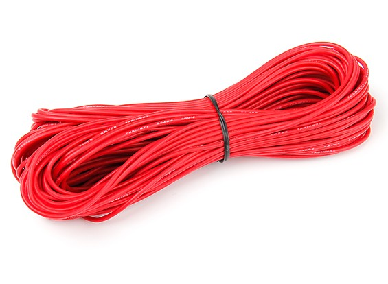 Turnigy High Quality 20AWG Silicone Wire 20m (Red)