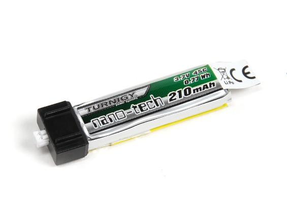 Turnigy Nano-Tech 210mAh 1S 45C LiPo Battery