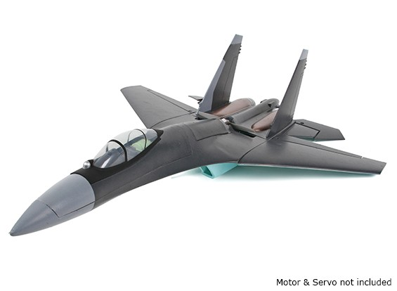 SU-35 Fighter Jet 1:20 Scale Mid-Engine Pusher Prop 735mm (KIT)