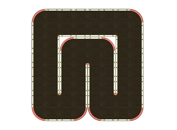 Mini-Q Indoor Car Racetrack (64 Tile)
