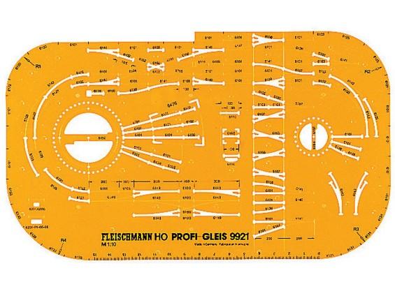 Fleischmann HO Profi-Track 1/10 Track Stencil