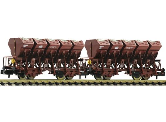 Roco/Fleischmann HO 2 Piece Tipping Bucket Wagon Set Type F-z 120 DB