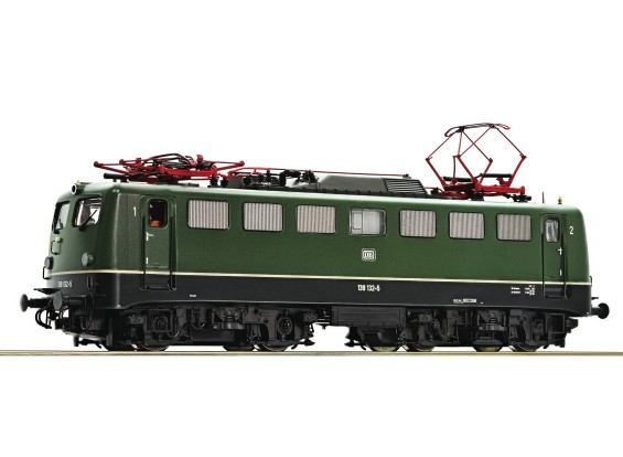 Roco/Fleischmann HO Electric Locomotive 139 132 DB (DCC Ready)