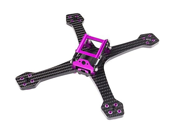 Diatone 2017 GT200S Stretch FPV Racing Drone Frame Kit (Violet) View 1