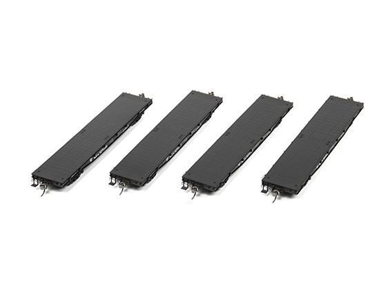 NX17K Flat Car (HO Scale - 4 Pack) Set 5