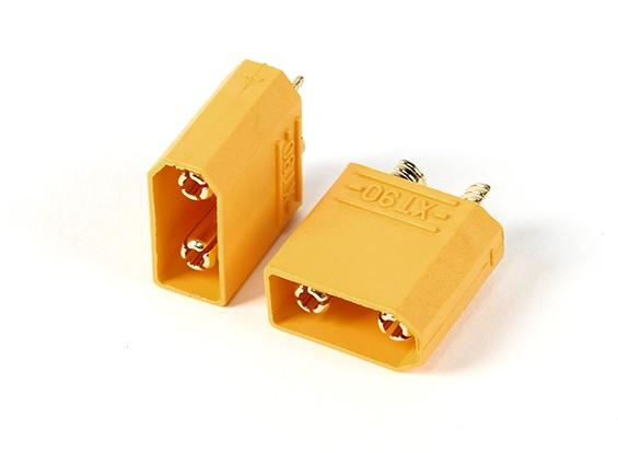 Nylon XT90 connettori maschio (5pcs / bag)