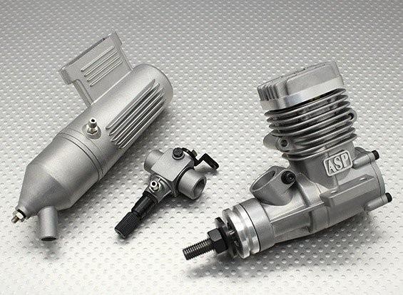 SCRATCH/DENT - ASP S25A Two Stroke Glow Engine (No Carb) E1111