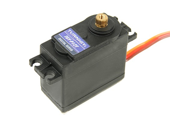 SCRATCH/DENT - Turnigy TGY-P12T Digital 1:12 Car Servo 25T 6.5kg /0.12sec /58g