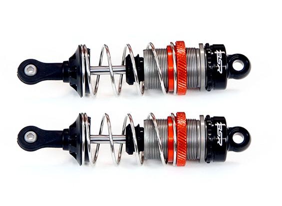 BSR 1/8 Aluminum Shock Absorber Set 90mm (x2) SN-814101