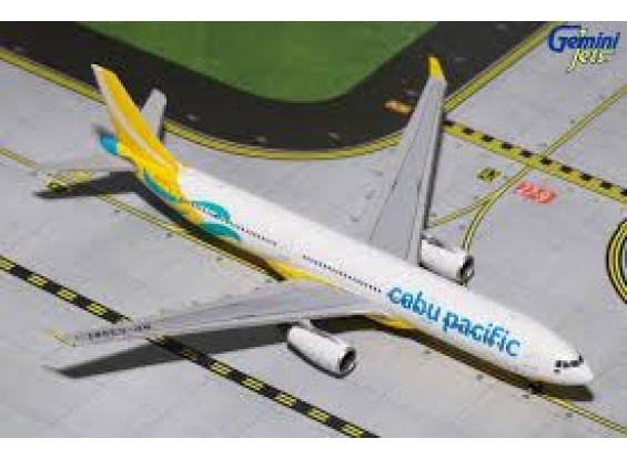 Gemini Jets Cebu Pacific Air Airbus A330-300 (New Livery) RP-C3347 1:400 Diecast Model CEB4A33