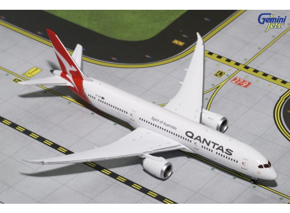 Gemini Jets QANTAS Airways Boeing 787-9 Dreamliner VH-DRM 1:400 Diecast Model GJQFA1644