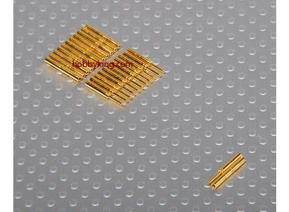 0.8mm oro connettori a 12 coppie (24pc)