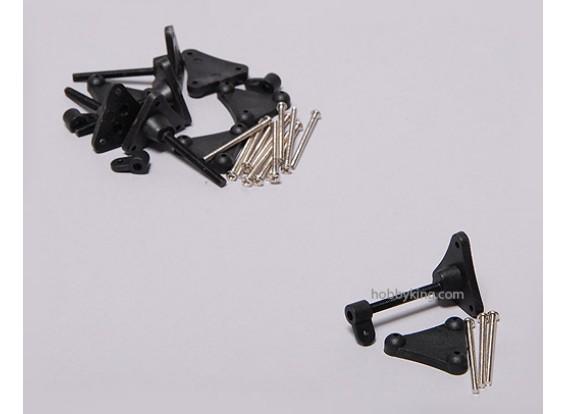 Controllo regolabile Horn 3x34mm (5sets)