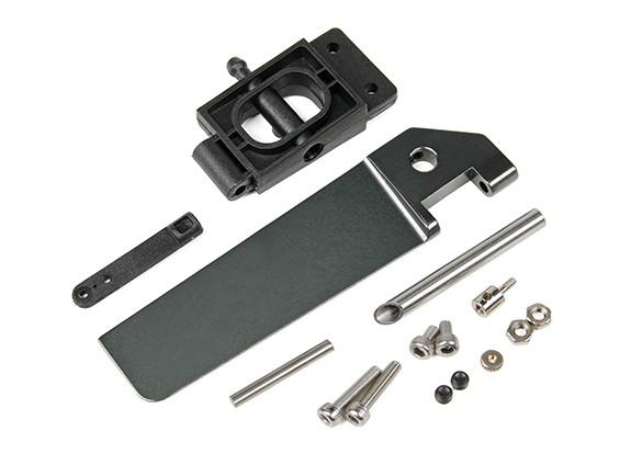 Lega di alluminio di montaggio del timone set - Aqua & Relentless & Scott & RelentlessV2