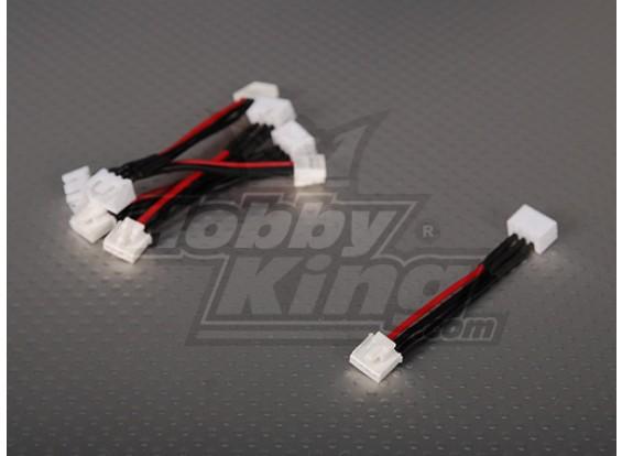 Femminile JST-XH <-> Male Thunderpower 2S 5cm (5pcs / bag)