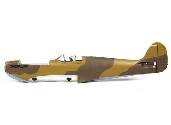schema deserto Spitfire fusoliera imbiancato con tutte le parti in plastica e magneti (cappuccio non inclusa)