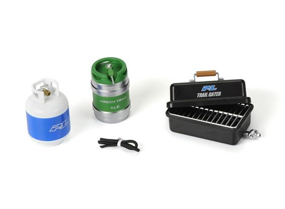 Scale Accessori # 9 (lattine di gas portatile Grill / propano bottiglia / barile / bevande / linea del gas)