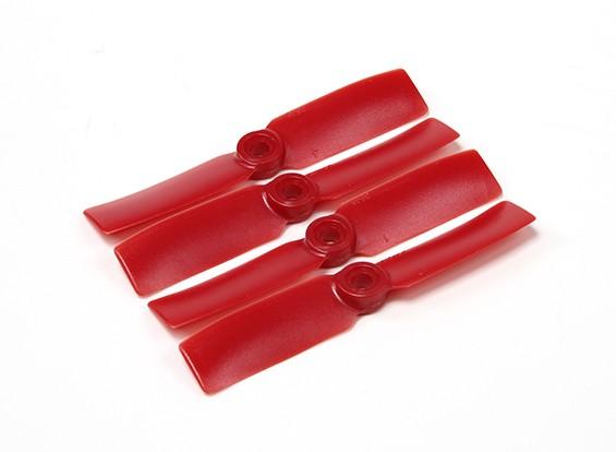 Diatone Bull Nose plastica eliche 3545 (CW / CCW) (Rosso) (2 coppie)