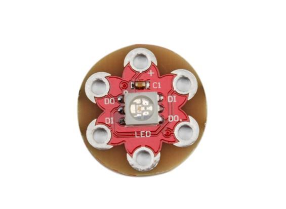 Lilypad portabile WS2812 Full Color Modulo 5050 RGB LED