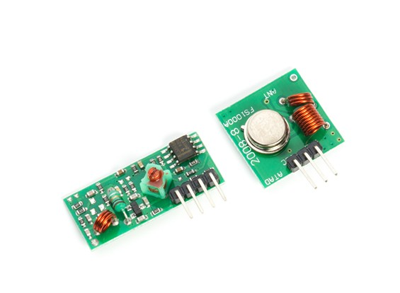 Trasmettitore Wireless Kingduino 433RF e modulo ricevente