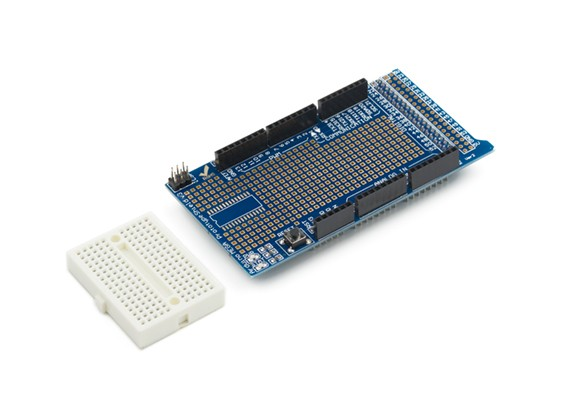 Kingduino MEGA ProtoShield V3 del prototipo di sviluppo Shield
