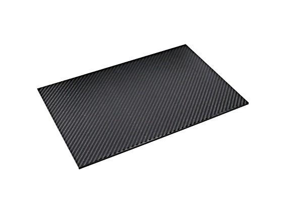 In fibra di carbonio foglio 300 x 200 x 4 mm