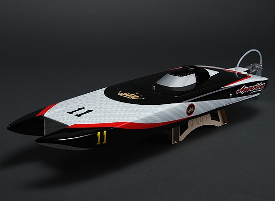 Apparizione Offshore Brushless RC Twin Hull (800 millimetri)